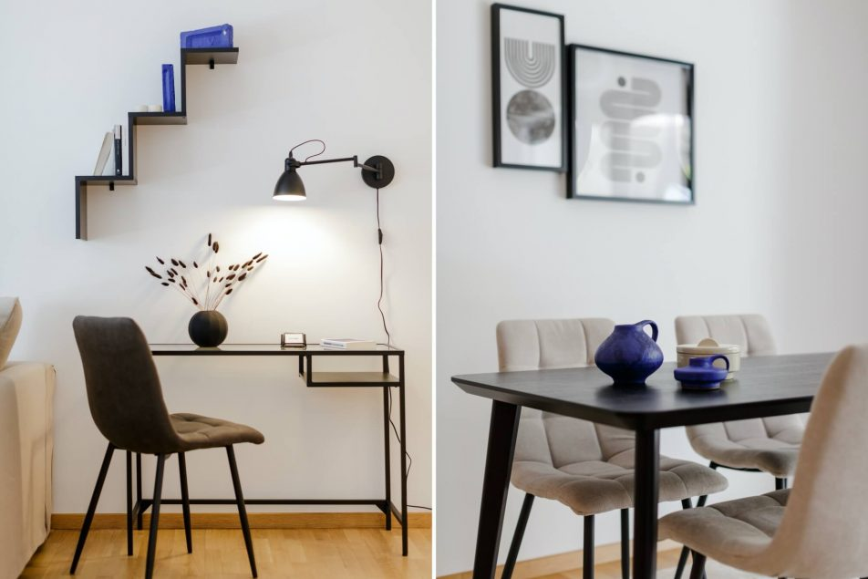 Workdesk/Dining Area